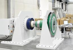 Новый испытательный стенд для муфт на заводе KTR Kupplungstechnik GmbH